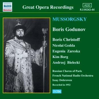 Name:  Boris Godunov - Issay Dobrowen 1952, Boris Christoff, Nicolai Gedda, Eugenia Zareska, Kim Borg, .jpg Views: 279 Size:  53.0 KB