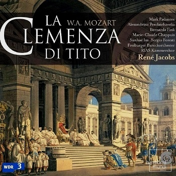 Name:  La Clemenza di Tito - René Jacobs 2005, Mark Padmore, Alexandrina Pendatchanska, Bernarda Fink, .jpg Views: 327 Size:  81.7 KB