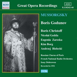 Name:  Boris Godunov - Issay Dobrowen 1952, Boris Christoff, Nicolai Gedda, Eugenia Zareska, Kim Borg, .jpg Views: 128 Size:  35.4 KB