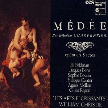 Name:  Médée - William Christie 1984, Les Arts Florissants, Jill Feldman, Jacques Bona, Agnès Mellon, G.jpg