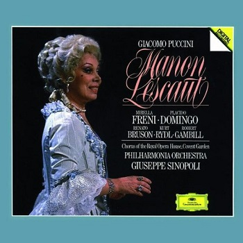 Name:  Puccini Manon Lescaut (Grand Prix Version) Freni Domingo Sinopoli.jpg Views: 150 Size:  45.4 KB