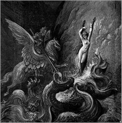 Name:  Gustave Doré (1832-1883) - Ruggiero rescuing Angelica.jpg Views: 158 Size:  94.0 KB