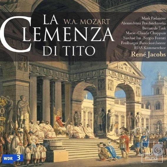 Name:  La Clemenza di Tito - René Jacobs 2005, Mark Padmore, Alexandrina Pendatchanska, Bernarda Fink, .jpg Views: 135 Size:  73.0 KB