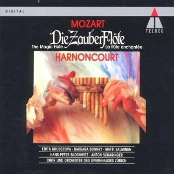 Name:  Die Zauberflöte - Nikolaus Harnoncourt 1987, Hans Peter Blochwitz, Barbara Bonney, Anton Scharin.jpg Views: 142 Size:  51.1 KB