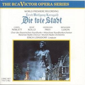 Name:  Die Tote Stadt - Erich Leinsdorf 1975, René Kollo, Carol Neblett, Hermann Prey, Benjamin Luxon.jpg Views: 135 Size:  34.6 KB