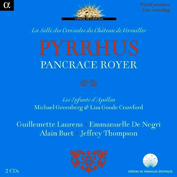 Name:  Pyrrhus (Paris Opera 1730) - Pancrace Royer - Michael Greenberg 2012, Guilllemette Laurens, Emma.jpg Views: 215 Size:  38.4 KB
