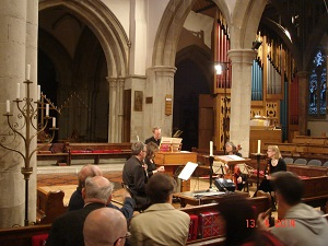 Name:  Church of St Peter's Berkhamsted, Chiltern Chamber Choir performance April 2014.jpg